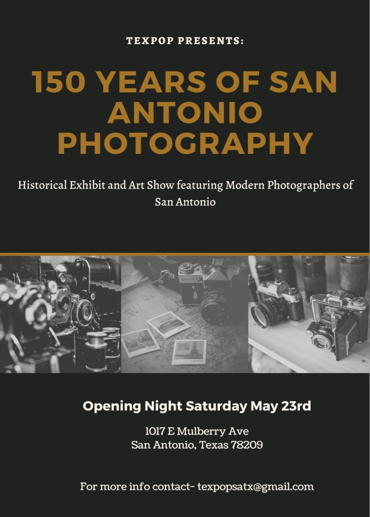 150 years of Photography flyer